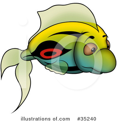 Fish Clipart #35240 by dero