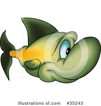 Fish Clipart #35243 by dero