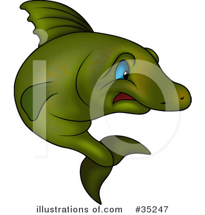 Fish Clipart #35247 by dero