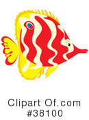 Fish Clipart #38100 by Alex Bannykh