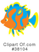 Fish Clipart #38104 by Alex Bannykh