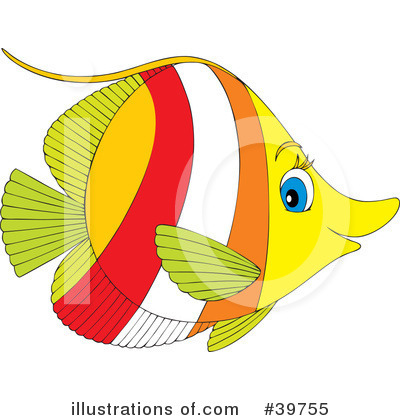 Clip  Fish on Royalty Free  Rf  Fish Clipart Illustration By Alex Bannykh   Stock