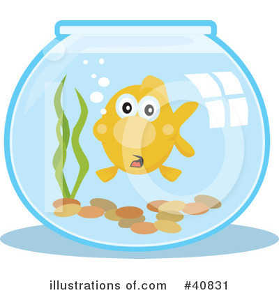 Fish Clipart #40831 by Dennis Holmes Designs