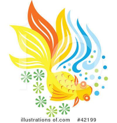 Fish Clipart #42199 by Cherie Reve