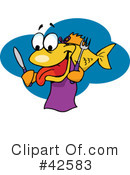 Fish Clipart #42583 by Dennis Holmes Designs