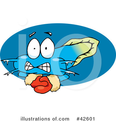 Fish Clipart #42601 by Dennis Holmes Designs