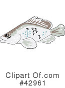 Fish Clipart #42961 by Dennis Holmes Designs