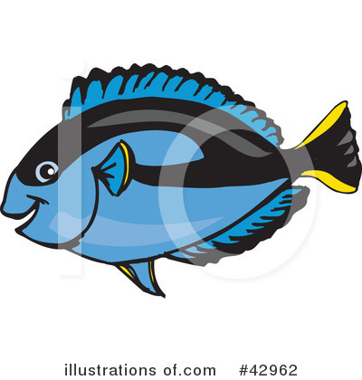 Fish Clipart #42962 by Dennis Holmes Designs