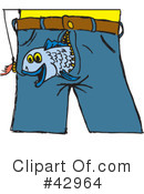 Fish Clipart #42964 by Dennis Holmes Designs