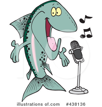 Fish Clipart #438136 by toonaday