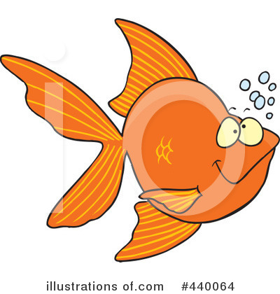 Fish Clipart #440064 by toonaday