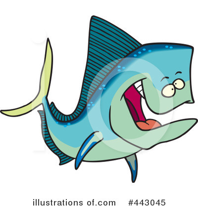 Fish Clipart #443045 by toonaday