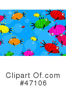 Royalty-Free (RF) Fish Clipart Illustration #47106