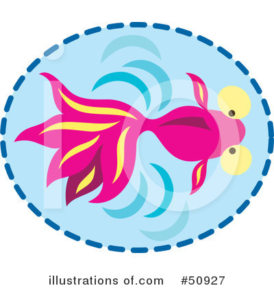 Fish Clipart #50927 by Cherie Reve