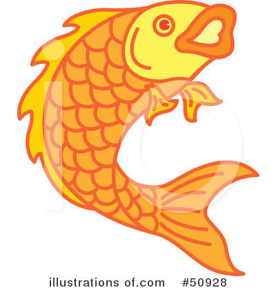 Fish Clipart #50928 by Cherie Reve