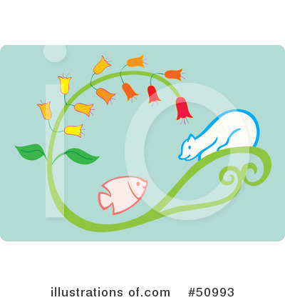 Fish Clipart #50993 by Cherie Reve