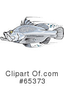 Fish Clipart #65373 by Dennis Holmes Designs