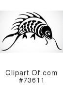 Royalty-Free (RF) Fish Clipart Illustration #73611