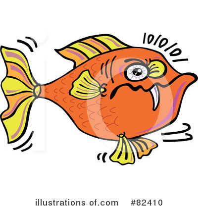 Fish Clipart #82410 by Zooco
