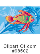 Fish Clipart #98502 by mayawizard101