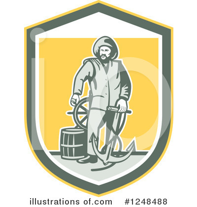 Fisherman Clipart #1248488 by patrimonio