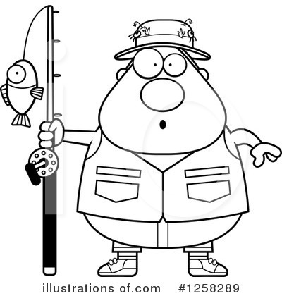 Fisherman Clipart #1258289 by Cory Thoman