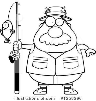 Fisherman Clipart #1258290 by Cory Thoman