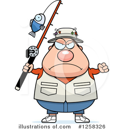 Fisherman Clipart #1258326 by Cory Thoman