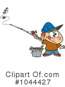 Royalty-Free (RF) Fishing Clipart Illustration #1044427