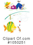 Royalty-Free (RF) Fishing Clipart Illustration #1050251