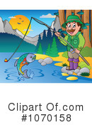Royalty-Free (RF) Fishing Clipart Illustration #1070158
