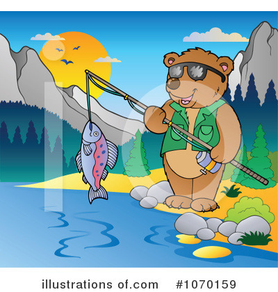 Fishing Clipart #1070159 by visekart