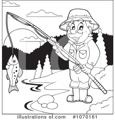 Fishing Clipart #1070161 by visekart