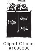 Royalty-Free (RF) Fishing Clipart Illustration #1090330