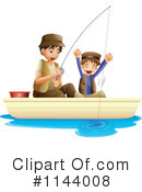 Royalty-Free (RF) Fishing Clipart Illustration #1144008