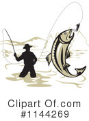 Royalty-Free (RF) Fishing Clipart Illustration #1144269