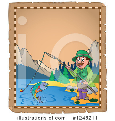 Fishing Clipart #1248211 by visekart