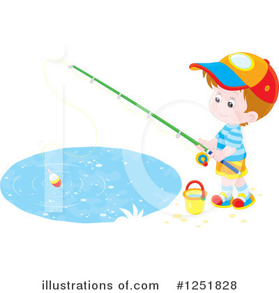 Fishing Clipart #1251828 by Alex Bannykh