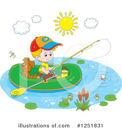 Raft Clipart #1251831 by Alex Bannykh