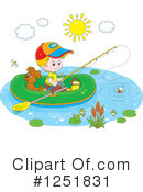 Royalty-Free (RF) Fishing Clipart Illustration #1251831