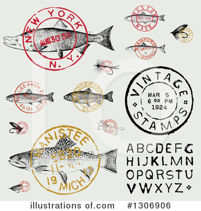 Fishing Clipart #1306906 by BestVector
