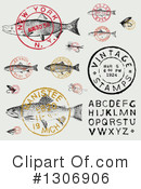 Royalty-Free (RF) Fishing Clipart Illustration #1306906