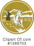 Royalty-Free (RF) Fishing Clipart Illustration #1388703