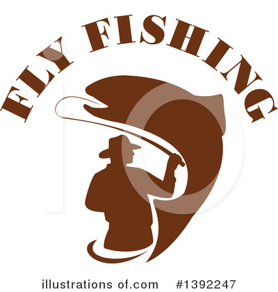 Fisherman Clipart #1392247 by patrimonio