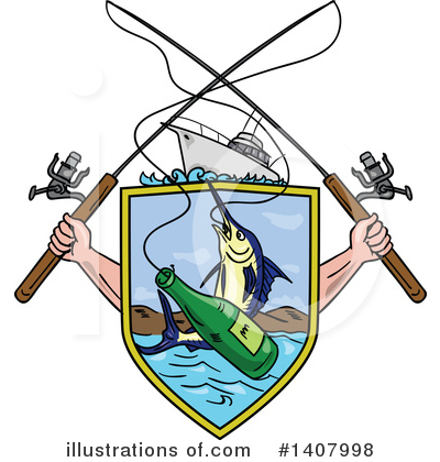 Marlin Clipart #1407998 by patrimonio