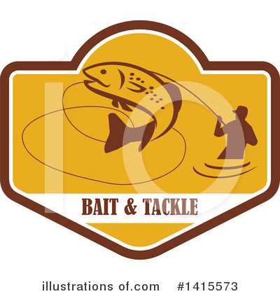 Fisherman Clipart #1415573 by patrimonio