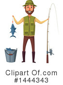 Fishing Clipart #1444343 by Vector Tradition SM