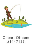 Fishing Clipart #1447133 by Vector Tradition SM