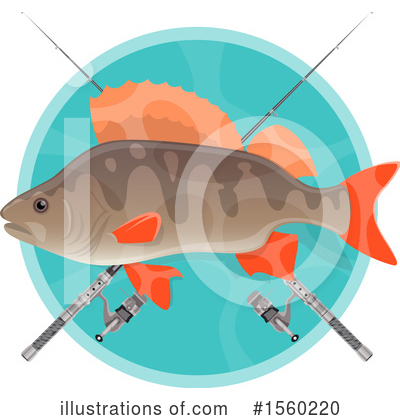 Fishing Clipart #1560220 by Vector Tradition SM