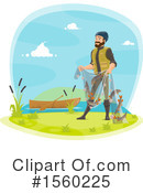 Fishing Clipart #1560225 by Vector Tradition SM